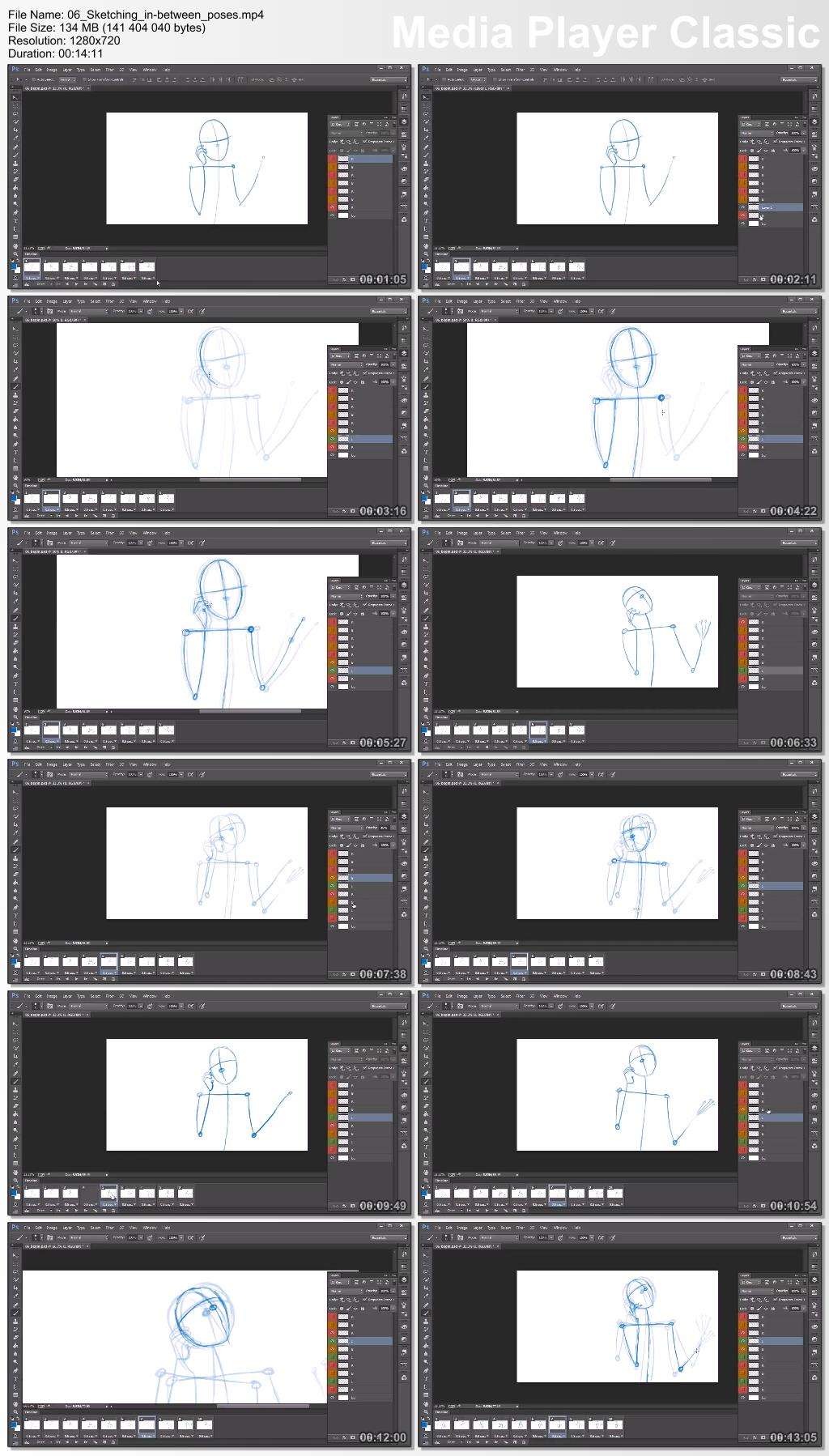 Dixxl Tuxxs - Traditional Animation Techniques in Photoshop