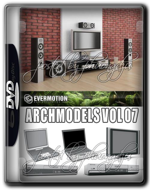 Evermotion Archmodels Vol 07