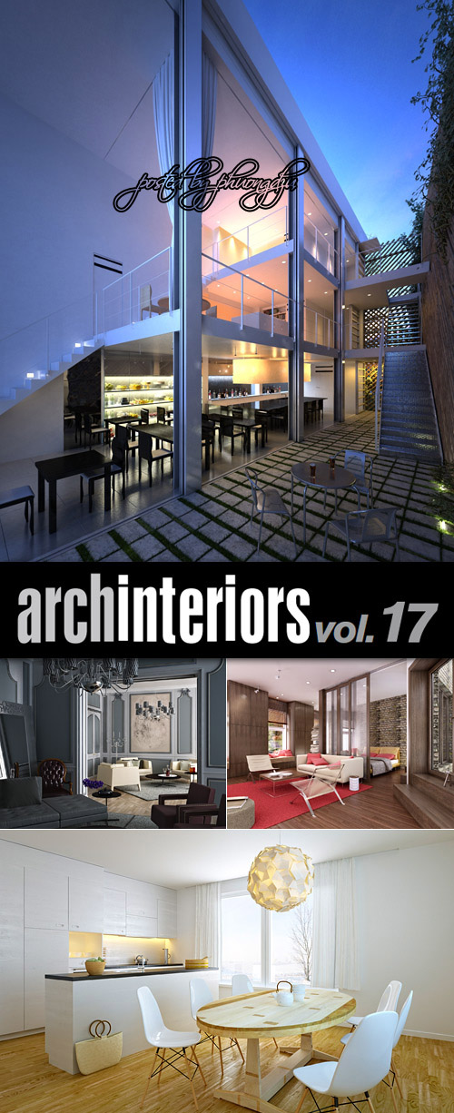 Evermotion Archinteriors vol 17 内饰的场景