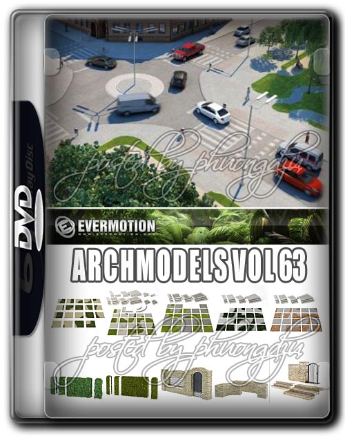Evermotion Archmodels Vol 63 C4D + Textures