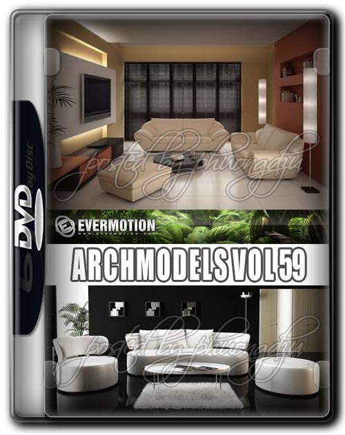 Evermotion Archmodels Vol 59 MAX + DXF + FBX + MXS + OBJ + Textures