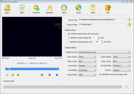Aone Ultra Video Splitter v6.0.0801