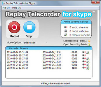 Replay Telecorder for Skype v1.2.0.4