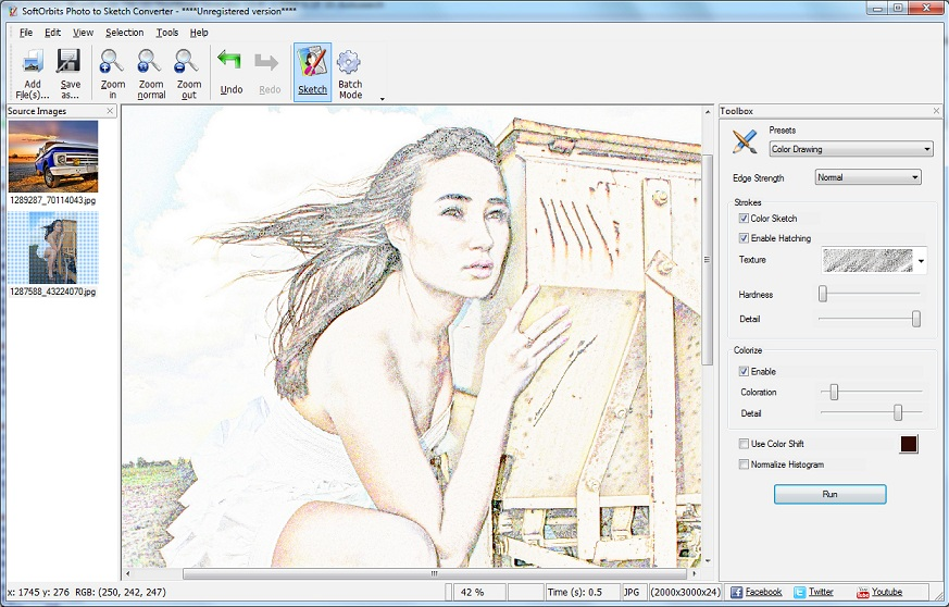 SoftOrbits Sketch Drawer 1.2 Multilingual