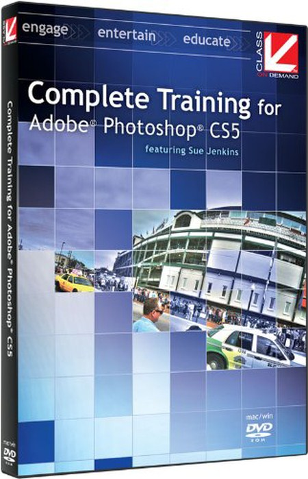 Complete Training for Adobe Photoshop CS5 (by Class on Demand)