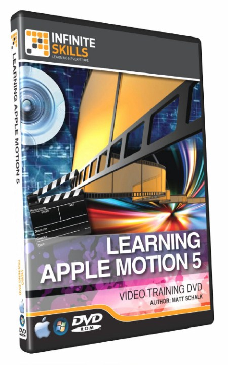 Infiniteskills – Learning Apple Motion 5 Training Video
