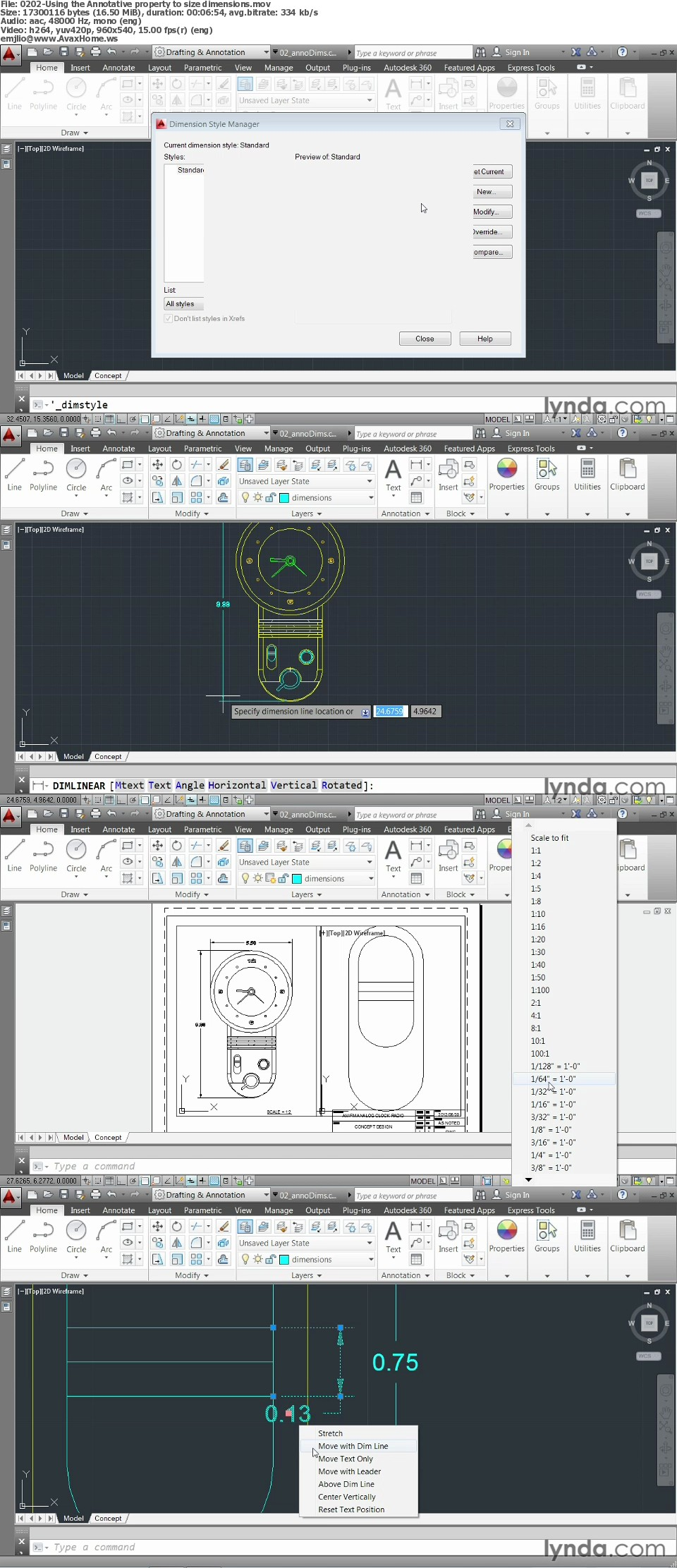 AutoCAD 2014 Essentials: 06 Sharing Drawings with Others
