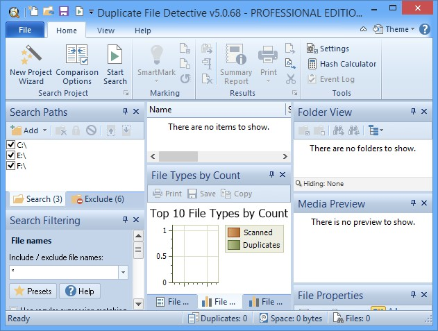 Duplicate File Detective 5.0.68 Professional Edition x86
