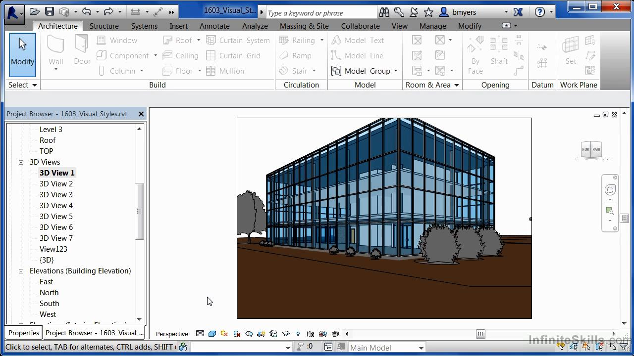 Infinite Skills - Learning Autodesk Revit Architecture 2014 Training Video