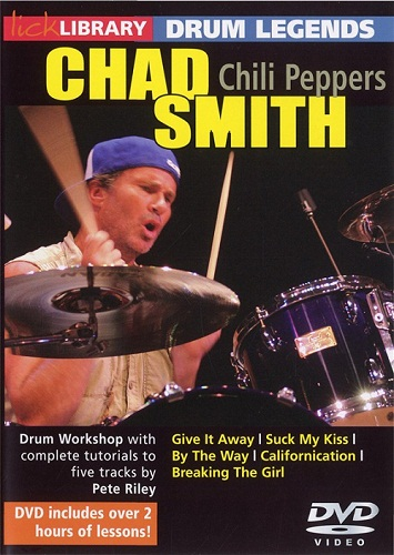 Lick Library - Drum Legends: Chad Smith (2010)