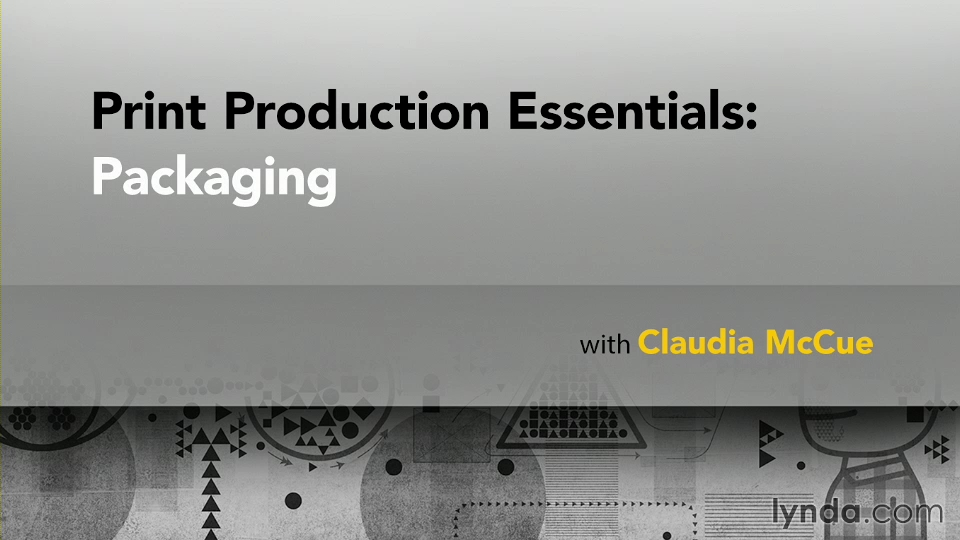 Print Production Essentials: Packaging (2013)
