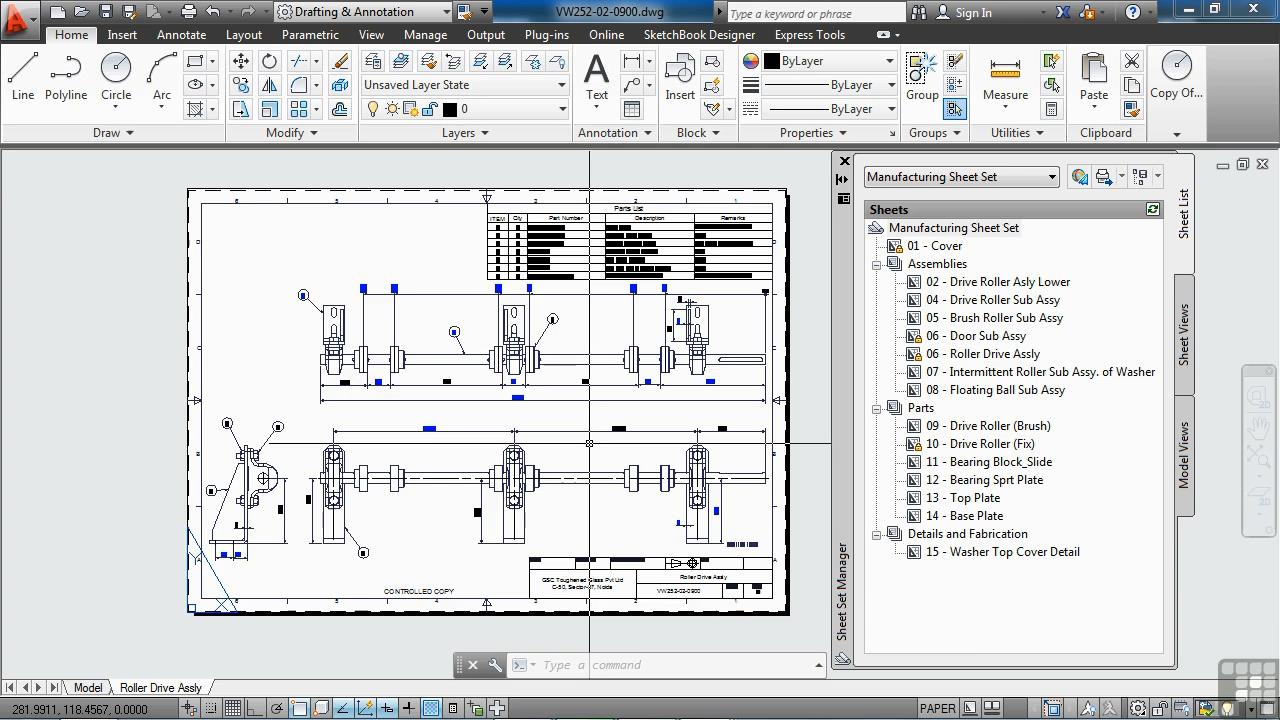 Infinite Skills - Learning To Use AutoCAD Sheet Sets Training Video
