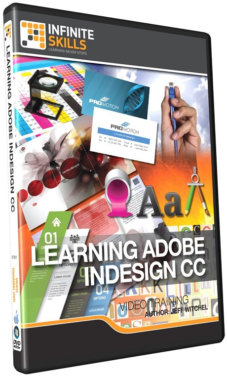 Infinite Skills - Learning Adobe InDesign CC Training Video