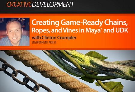 Dixxl Tuxxs - Creating Game-Ready Chains, Ropes, and Vines in Maya and UDK by Clinton Crumpler
