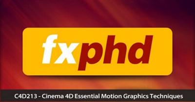Cinema 4D Essential Motion Graphics Techniques With Tim Clapham (2013)