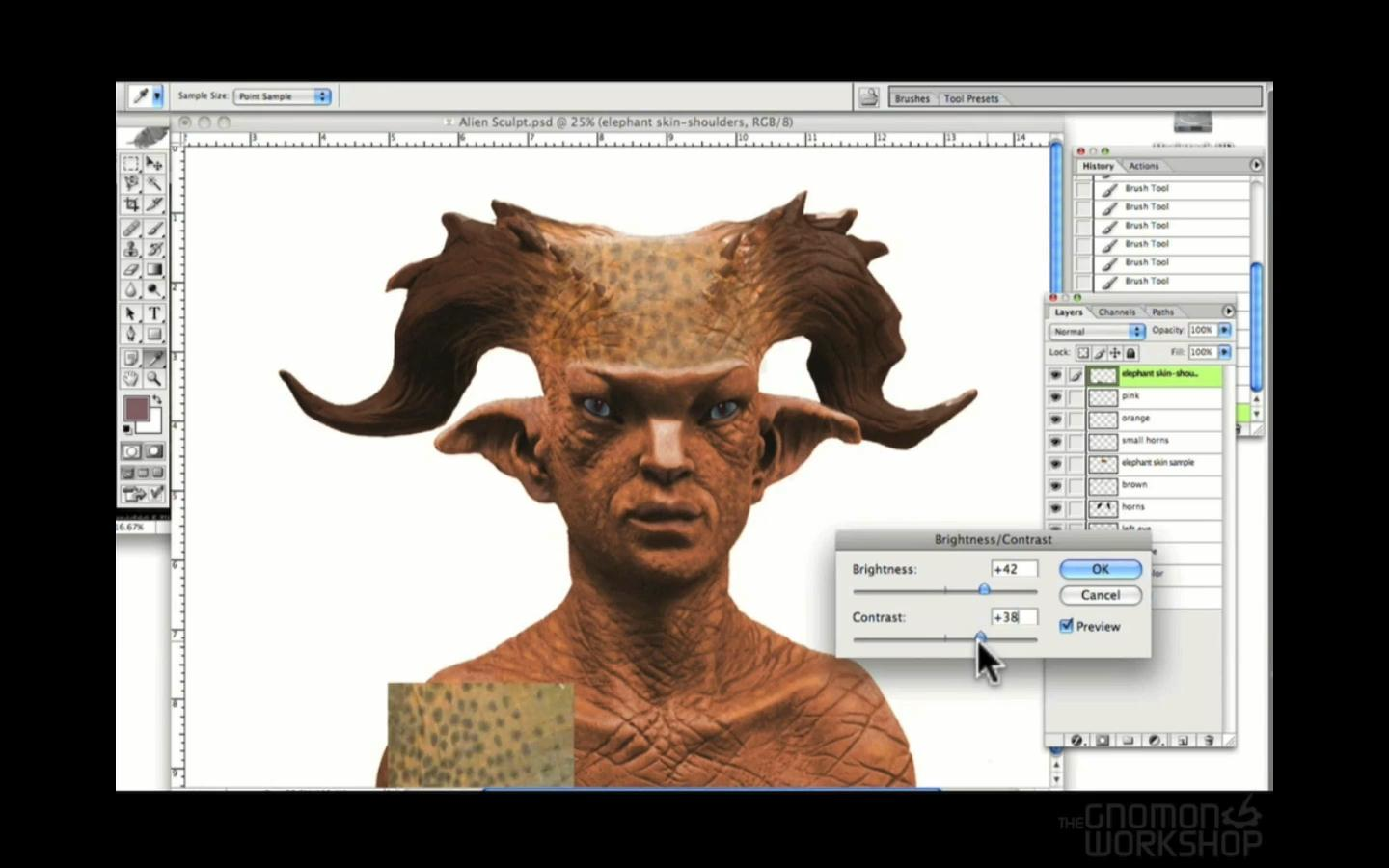Gnomon Workshop - Sculpting Expression and Fantasy Characters with John Brown