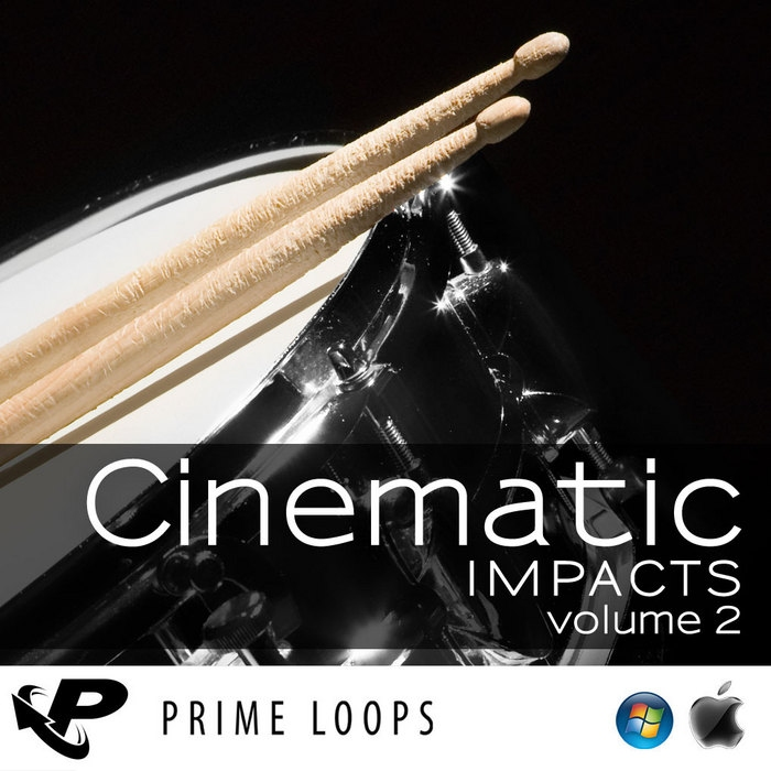 Prime Loops Cinematic Impacts Vol 2 MULTiFORMAT DVDR
