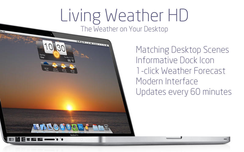 Living Weather HD v2.6 Mac OS X