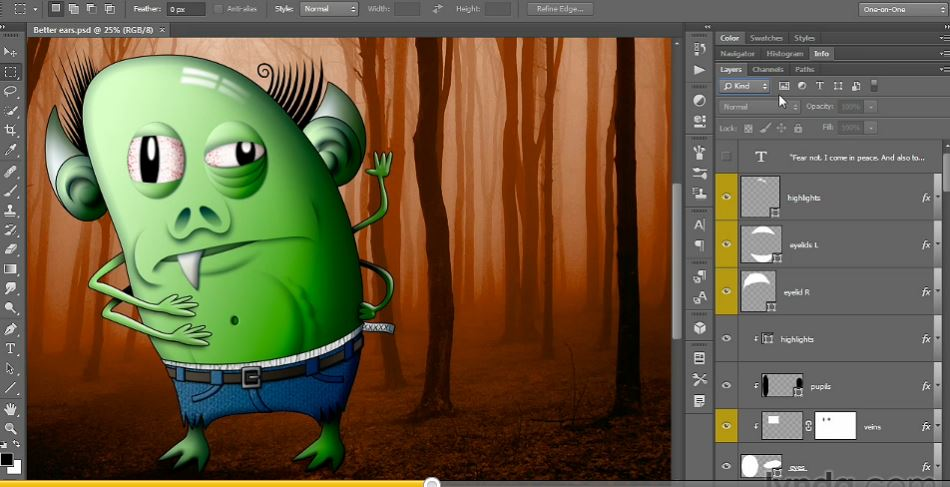 Photoshop CC One-on-One: Mastery