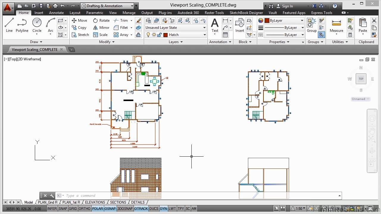 Infinite Skills - AutoCAD - Creating Construction Drawings Training Video