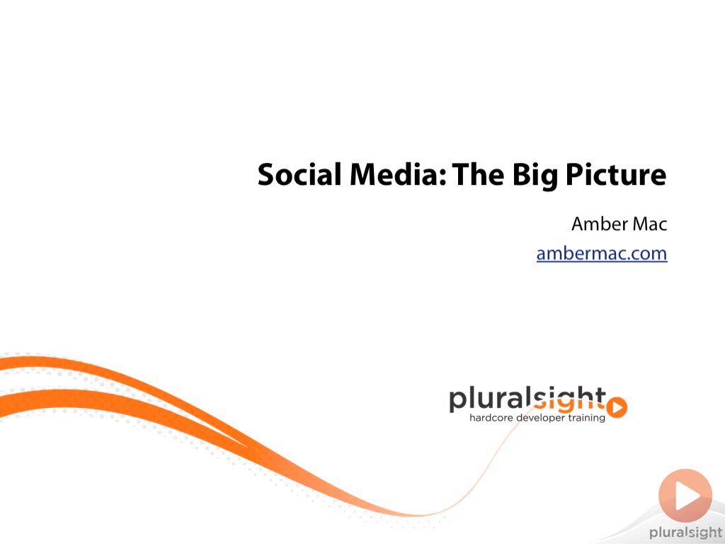 Amber Mac- Social Media: The Big Picture