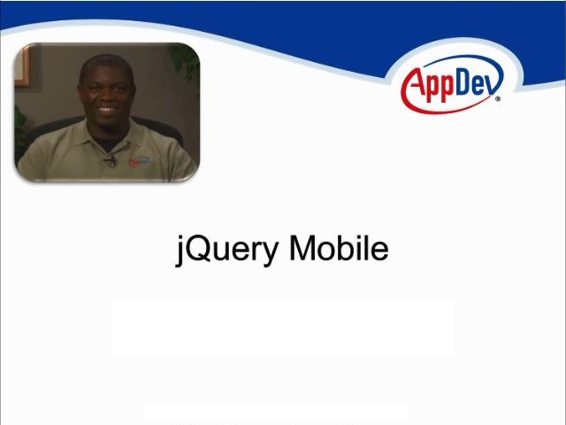 AppDev - jQuery Mobile (2012)