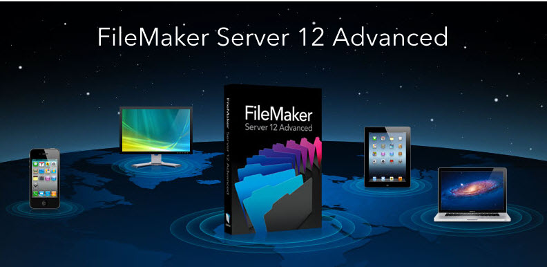 FileMaker Server Advanced 12.0.1 Multilanguage