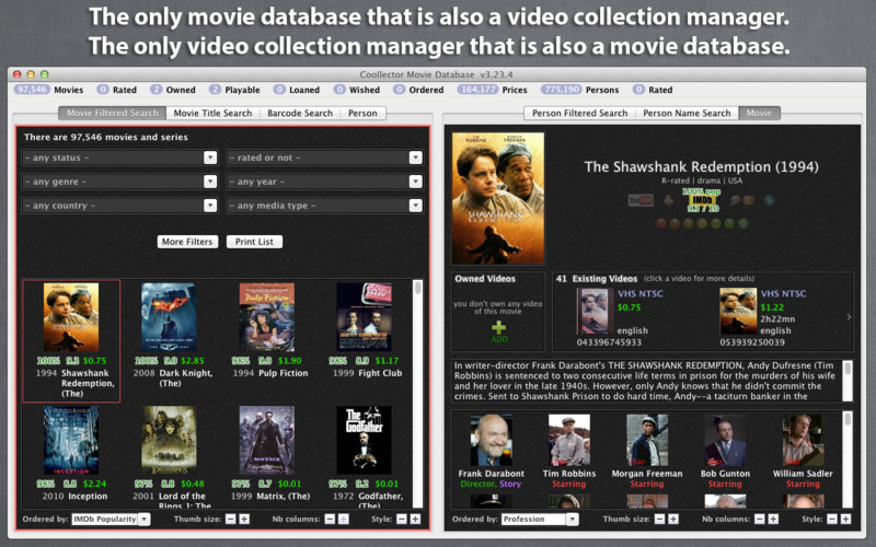 Coollector Movie Database 3.23.4