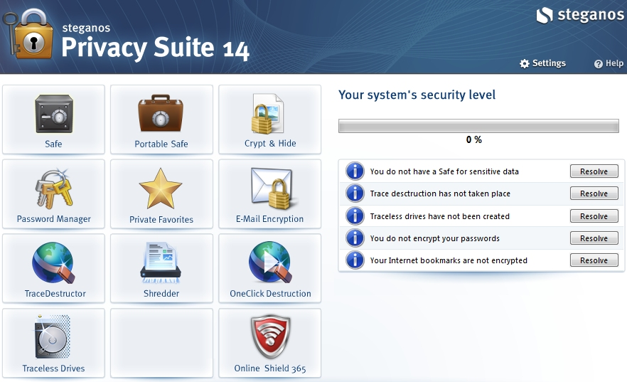 Steganos Privacy Suite 14.0.5 Revision 10232