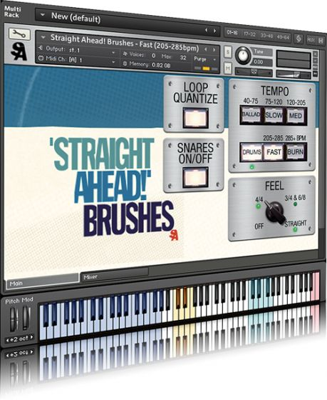 Straight Ahead Jazz Drums v.1.3 KONTAKT