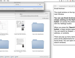 Email Archiver Pro v2.8.4 MacOSX