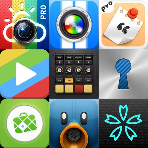 iOS APPs Pack 001
