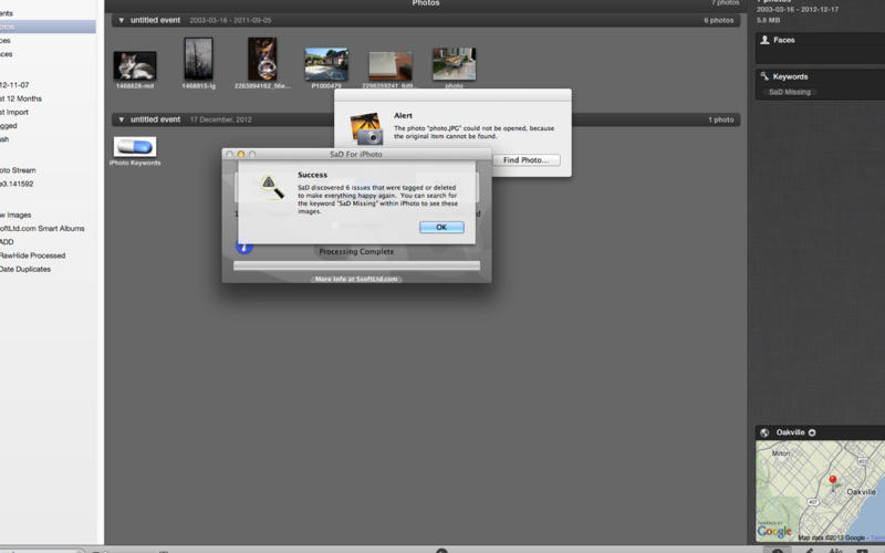 SaD For iPhoto v1.4.2 Mac OS X