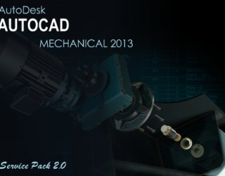 Autodesk AutoCAD Mechanical 2013 SP2