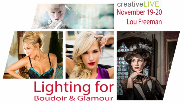Lighting for Boudoir and Glamour