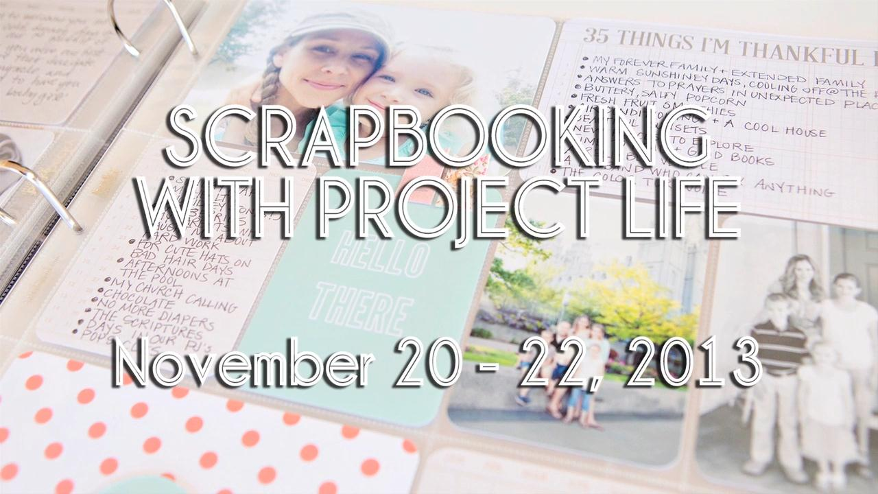 Scrapbooking with Project Life