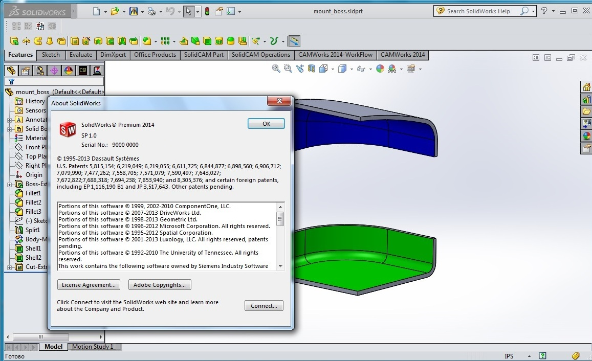 SolidWorks 2014.SP1.0