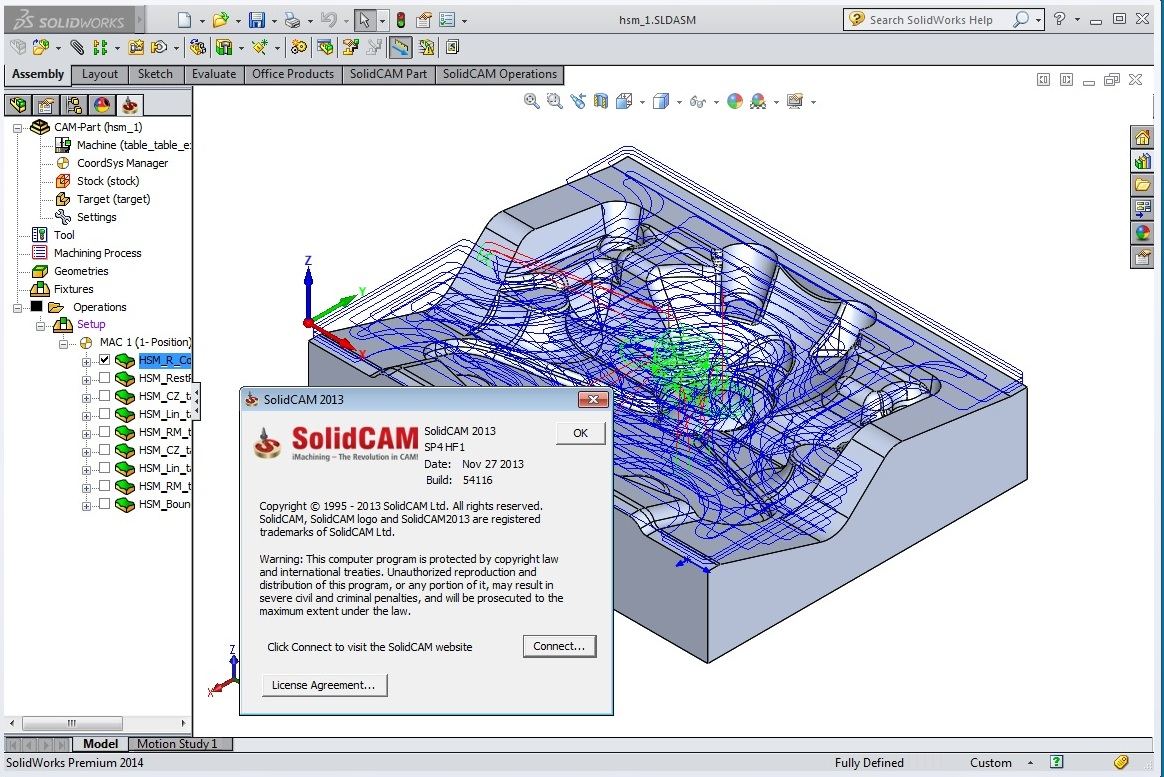 SolidCAM 2013 SP4 HF1