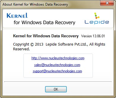 Kernel for Windows Data Recovery 13.06.01