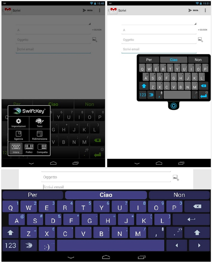 SwiftKey Tablet Keyboard v4.4.0.183 Beta