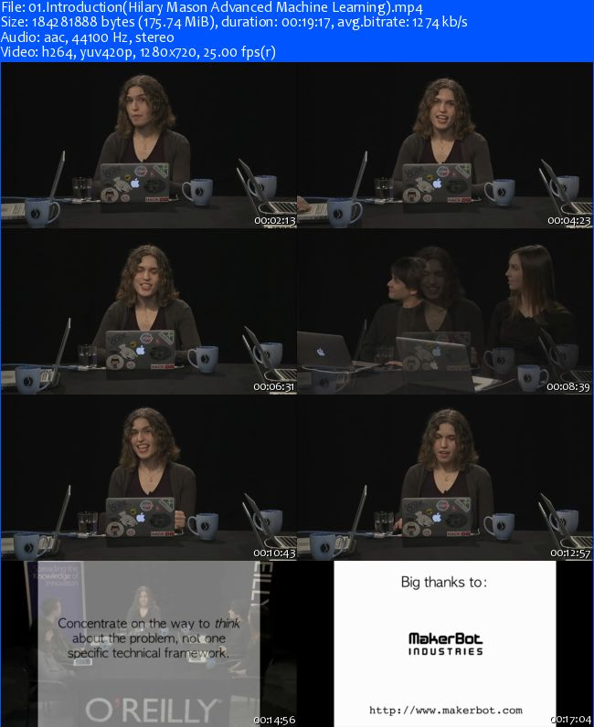 Oreilly - Hilary Mason Advanced Machine Learning