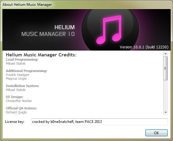 Helium Music Manager 10 Build 12230 Network Edition