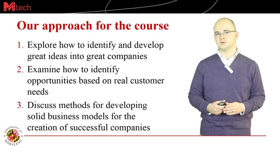 Coursera - Developing Innovative Ideas for New Companies: The First Step in Entrepreneurship