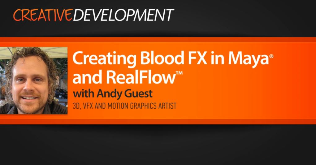 Creating Blood FX in Maya and RealFlow