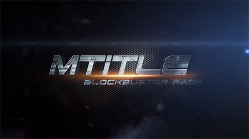 MotionVFX - mTitle Blockbuster Pack
