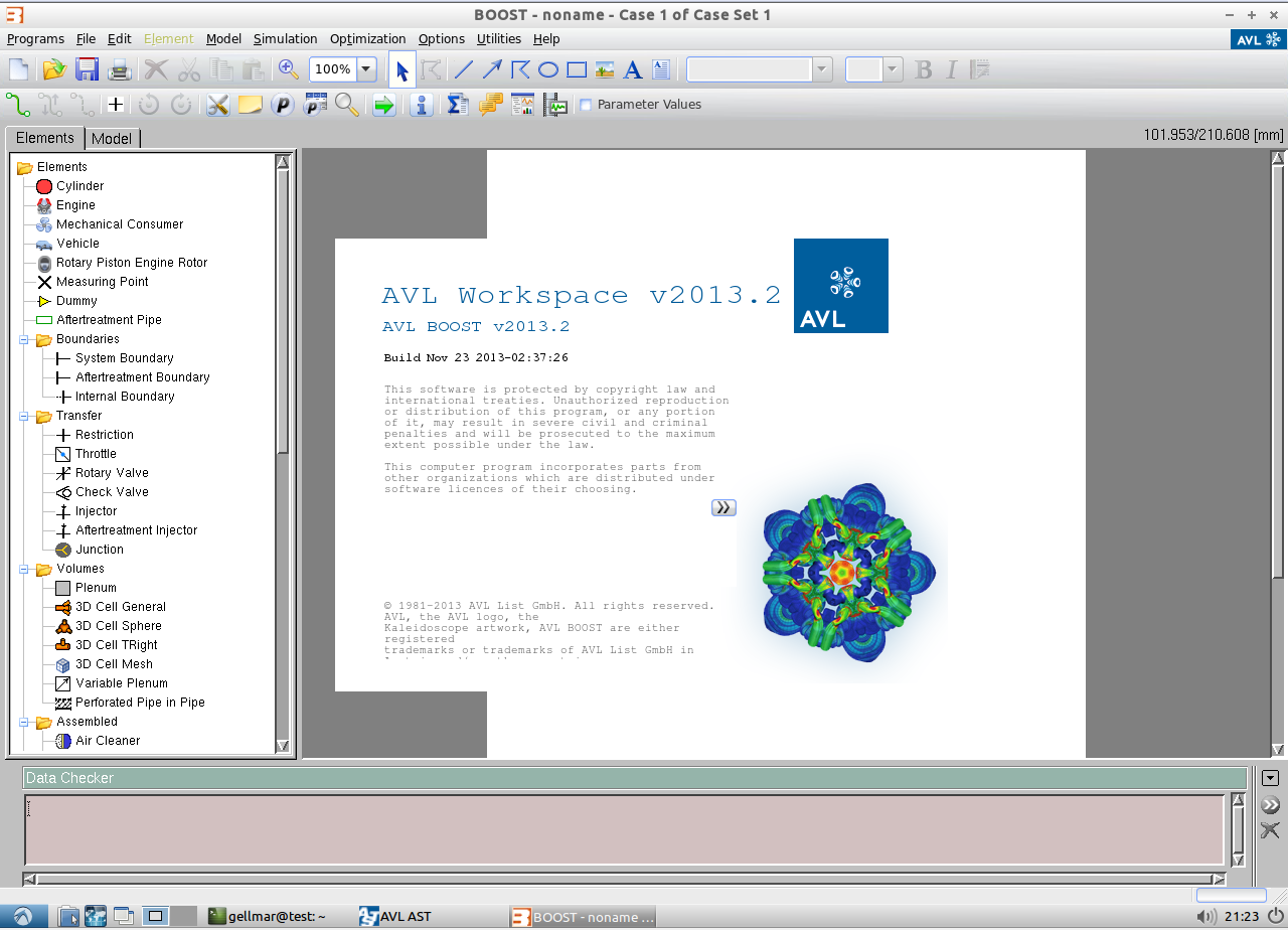 AVL Workspace Suite 2013.2