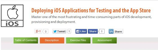 Deploying iOS Applications for Testing and the App Store