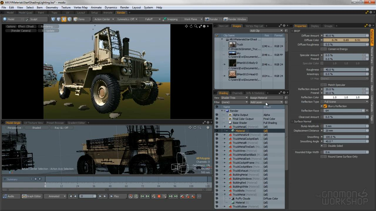 The Gnomon Workshop - 3D Look Development in Modo