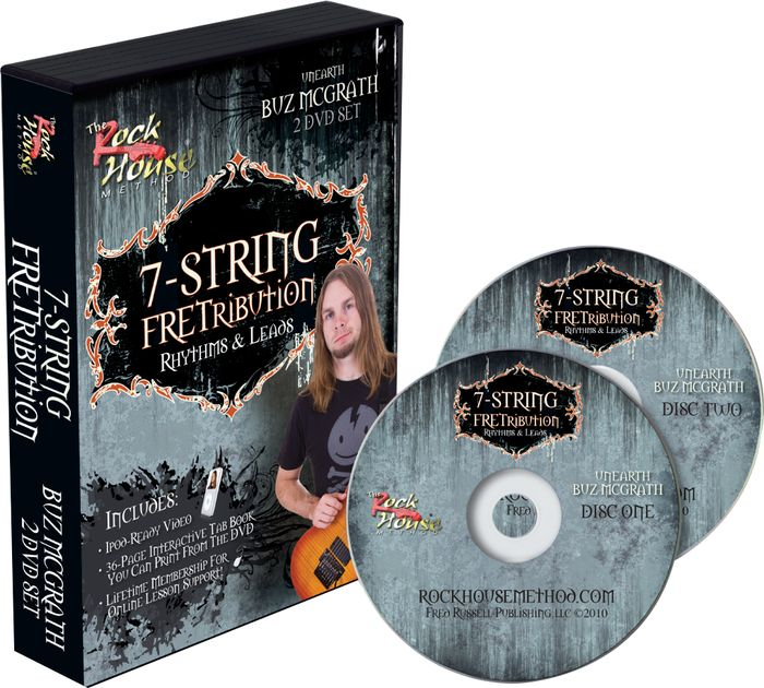 Rock House 7-String Fretribution Rhythyms & Leads (Repost)