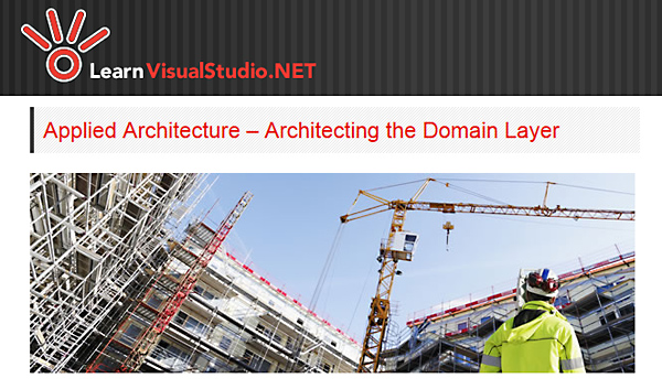 LearnVisualStudio - Applied Architecture - Architecting the Domain Layer